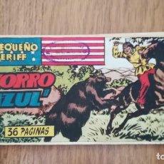 "Livros de Banda Desenhada: EL PEQUEÑO SHERIFF Nº 145 ""EL ZORRO AZUL"". Lote 220281027"