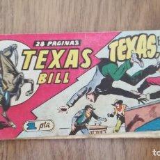 Giornalini: TEXAS BILL. TEXAS, EL HOMBRE CICLÓN, Nº 55. Lote 220283206