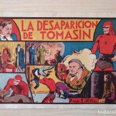Tebeos: EL HOMBRE ENMASCARADO - LA DESAPARICION DE TOMASIN - Nº 12 - HISPANO AMERICANA - ORIGINAL AÑOS 40. Lote 220356813