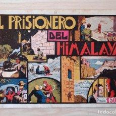 Tebeos: EL HOMBRE ENMASCARADO - EL PRISIONAERO DEL HIMALAYA - Nº 14 - HISPANO AMERICANA - ORIGINAL AÑOS 40. Lote 220357086
