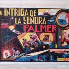 Tebeos: EL HOMBRE ENMASCARADO - LA INTRIGA DE LA SEÑORA PALMER- Nº 15 - HISPANO AMERICANA - ORIGINAL AÑOS 40. Lote 220357261