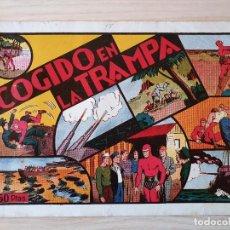 Tebeos: EL HOMBRE ENMASCARADO - COGIDO EN LA TRAMPA - Nº 17 - HISPANO AMERICANA - ORIGINAL AÑOS 40. Lote 220357651