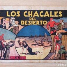 Tebeos: EL HOMBRE ENMASCARADO - LOS CHACALES DEL DESIERTO - Nº 20 - HISPANO AMERICANA - ORIGINAL AÑOS 40. Lote 220358181