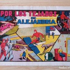 Tebeos: EL HOMBRE ENMASCARADO - POR LOS TEJADOS DE ALEJANDRIA - Nº 21 - HISPANO AMERICANA - ORIGINAL AÑOS 40. Lote 220358347