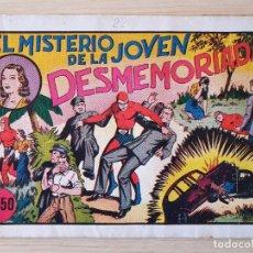 Tebeos: EL HOMBRE ENMASCARADO - MISTERIO JOVEN DESMEMORIADA - Nº 22 - HISPANO AMERICANA - ORIGINAL AÑOS 40. Lote 220358607