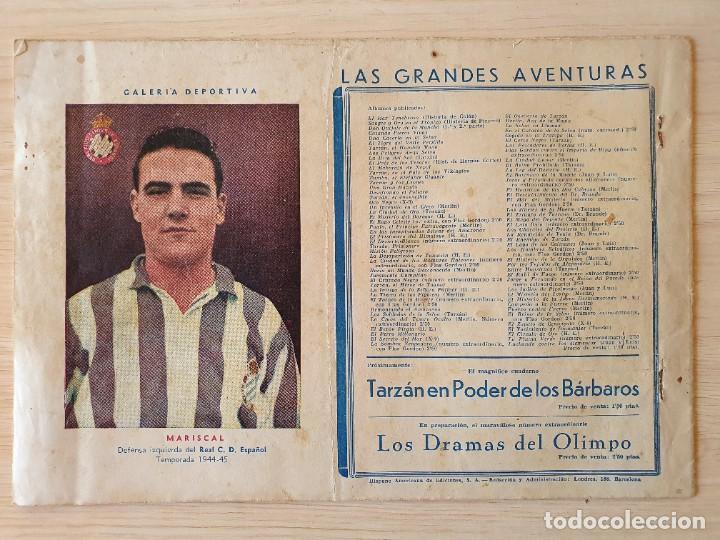 Tebeos: EL HOMBRE ENMASCARADO - EL FIN DEL CIRCULO DE ORO - Nº 24 - Hispano Americana - ORIGINAL AÑOS 40 - Foto 3 - 220367866
