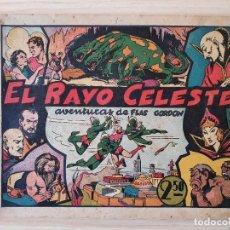 Tebeos: FLAS GORDON - EL RAYO CELESTE - Nº 1 . EDITORIAL HISPANO AMERICANA - ORIGINAL AÑOS 40. Lote 220369516