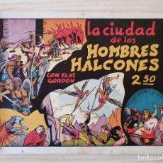 Tebeos: FLAS GORDON - LA CIUDAD DE LOS HOMBRES HALCONES - Nº 2 . HISPANO AMERICANA - ORIGINAL AÑOS 40. Lote 220369983