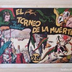 Tebeos: FLAS GORDON - EL TORNEO DE LA MUERTE - Nº 3. HISPANO AMERICANA - ORIGINAL AÑOS 40. Lote 220370088