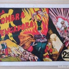 Tebeos: FLAS GORDON - LA SOMBRA VENGADORA - Nº 4. HISPANO AMERICANA - ORIGINAL AÑOS 40. Lote 220370201