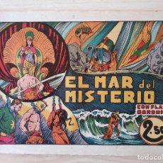 Tebeos: FLAS GORDON - EL MAR DEL MISTERIO - Nº 6. HISPANO AMERICANA - ORIGINAL AÑOS 40. Lote 220375275