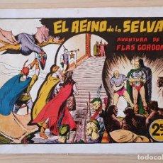 Tebeos: FLAS GORDON - EL REINO DE LA SELVA - Nº 8. HISPANO AMERICANA - ORIGINAL AÑOS 40. Lote 220375490