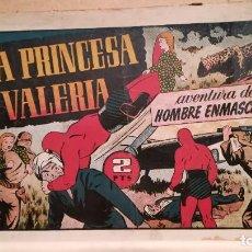 Tebeos: LA PRINCESA VALERIA AVENTURA DEL HOMBRE ENMASCARADO Nº 82. Lote 220481160