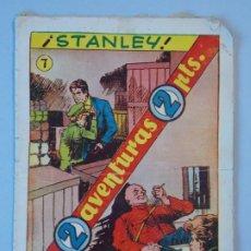 Tebeos: DOS AVENTURAS - Nº7 - STANLEY - EL CORONEL SOKOFF - 1957 ... L2118. Lote 220837580