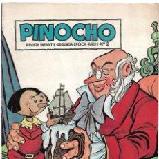 Tebeos: PINOCHO EL DIFICIL Nº 2, ORIGINAL CLIPER 1957 -- LEER TODO. Lote 221110295