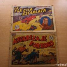 Livros de Banda Desenhada: JUAN CENTELLA - NÚMEROS 6 Y 11 - ORIGINALES - HISPANO AMERICANA. Lote 221237456