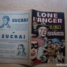 Livros de Banda Desenhada: LONE RANGER - Nº 25 - EL CASO DEL ESTAÑADOR - ORIGINAL - HISPANO AMERICANA - BUEN ESTADO. Lote 221249121