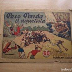 Livros de Banda Desenhada: PACO PEREDA - EL DEPORTISTA NÚMERO 1 - ORIGINAL - HISPANO AMERICANA DE EDICIONES. Lote 221252718
