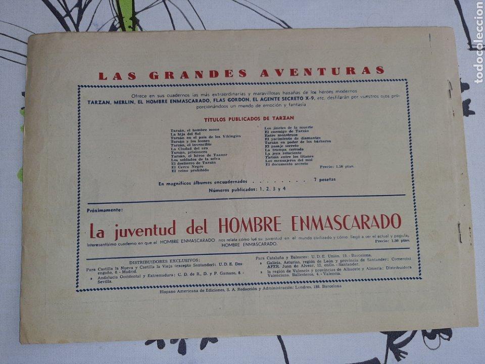 Tebeos: Don Macabro, Tarzán Hispano Americana original - Foto 2 - 221367106