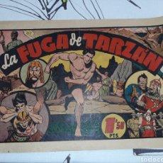 Tebeos: LA FUGA DE TARZÁN , HISPANO AMERICANA , ORIGINAL. Lote 221367483