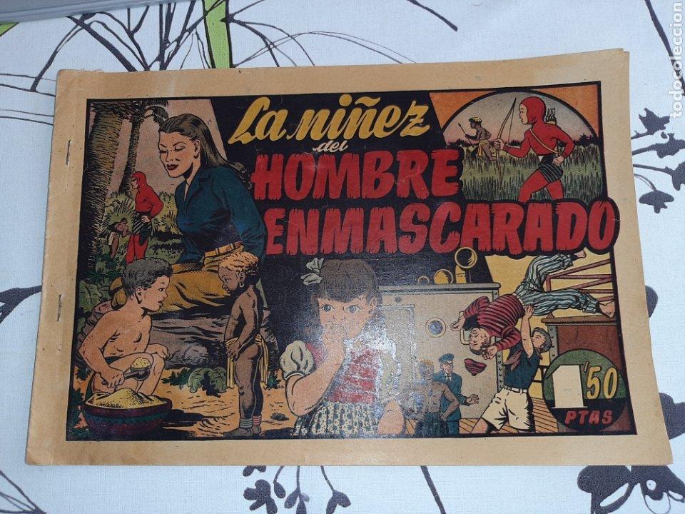 LA NIÑEZ DEL HOMBRE ENMASCARADO, HISPANO AMERICANA , ORIGINAL (Tebeos y Comics - Hispano Americana - Hombre Enmascarado)