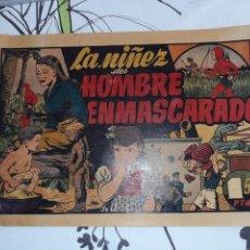 Tebeos: LA NIÑEZ DEL HOMBRE ENMASCARADO, HISPANO AMERICANA , ORIGINAL. Lote 221368167
