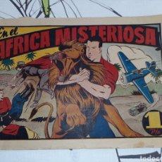 Tebeos: EN EL ÁFRICA MISTERIOSA, JUAN CENTELLA, HISPANO AMERICANA ORIGINAL. Lote 221369311