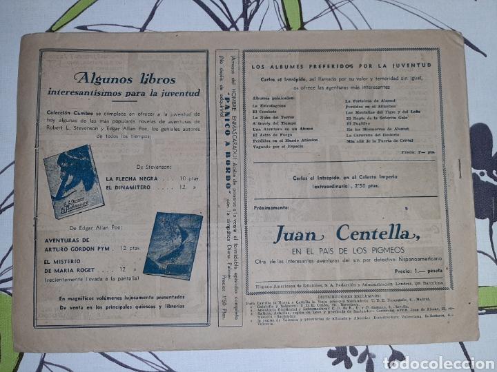 Tebeos: El ídolo de la caverna, Carlos El Intrépido Hispano Americana original en buen estado - Foto 3 - 221503070