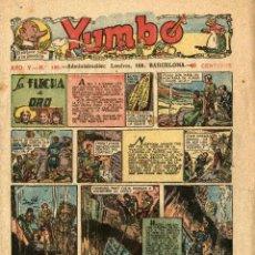 Tebeos: YUMBO-188 (HISPANO AMERICANA, 1-12-1938) ANTEPENÚLTIMO NÚMERO. FORMATO PEQUEÑO. Lote 221506678