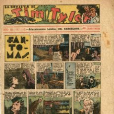 Tebeos: LA REVISTA DE TIM TYLER-110 (HISPANO AMERICANA, 20-11-1938) CON THE PHANTOM EN PORTADA. Lote 221508311