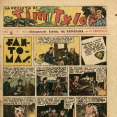 Tebeos: LA REVISTA DE TIM TYLER-111 (HISPANO AMERICANA, 3-12-1938) CON THE PHANTOM EN PORTADA. Lote 221508477