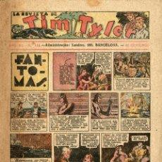 Tebeos: LA REVISTA DE TIM TYLER-113 (HISPANO AMERICANA, 17-12-1938) ÚLTIMO NÚMERO.CON THE PHANTOM EN PORTADA. Lote 221508763