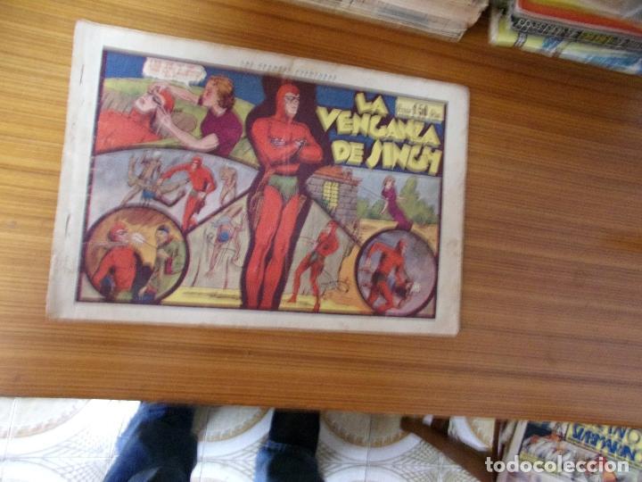 EL HOMBRE ENMASCARADO LA VENGANZA DE SINGH EDITA HISPANO AMERICANA (Tebeos y Comics - Hispano Americana - Hombre Enmascarado)
