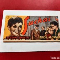 Tebeos: SUCHAI -EL PEQUEÑO LIMPIABOTAS Nº 19 -ORIGINAL-EXCELENTE ESTADO. Lote 221746740
