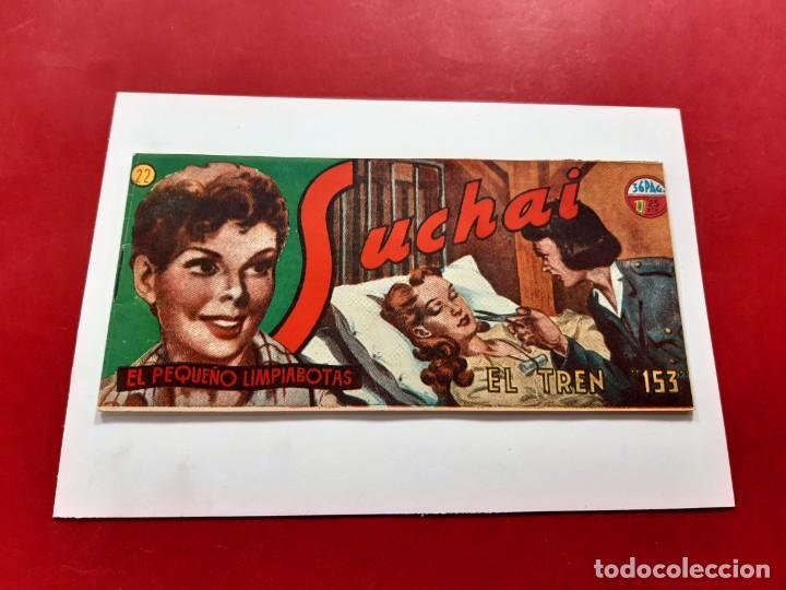 SUCHAI -EL PEQUEÑO LIMPIABOTAS Nº 22 -ORIGINAL-EXCELENTE ESTADO (Tebeos y Comics - Hispano Americana - Suchai)