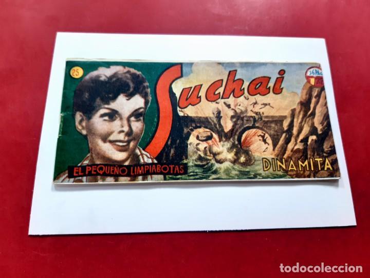 SUCHAI -EL PEQUEÑO LIMPIABOTAS Nº 25 -ORIGINAL-EXCELENTE ESTADO (Tebeos y Comics - Hispano Americana - Suchai)