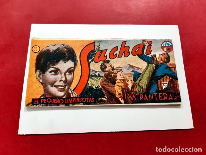SUCHAI -EL PEQUEÑO LIMPIABOTAS Nº 26 -ORIGINAL-EXCELENTE ESTADO (Tebeos y Comics - Hispano Americana - Suchai)