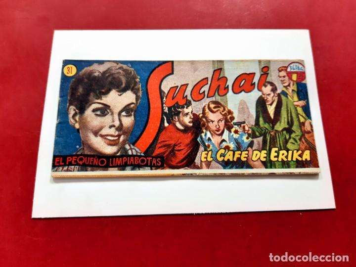 SUCHAI -EL PEQUEÑO LIMPIABOTAS Nº 31 -ORIGINAL-EXCELENTE ESTADO (Tebeos y Comics - Hispano Americana - Suchai)