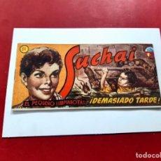 Tebeos: SUCHAI -EL PEQUEÑO LIMPIABOTAS Nº 34 -ORIGINAL-EXCELENTE ESTADO. Lote 221747691