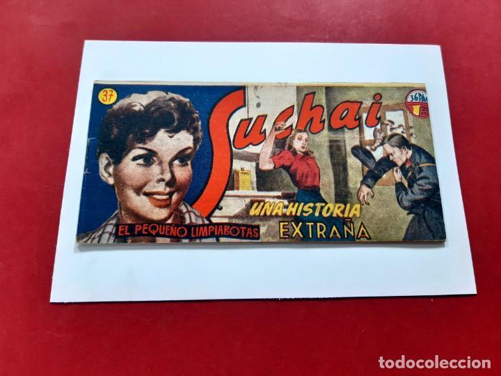 SUCHAI -EL PEQUEÑO LIMPIABOTAS Nº 37 -ORIGINAL-EXCELENTE ESTADO (Tebeos y Comics - Hispano Americana - Suchai)