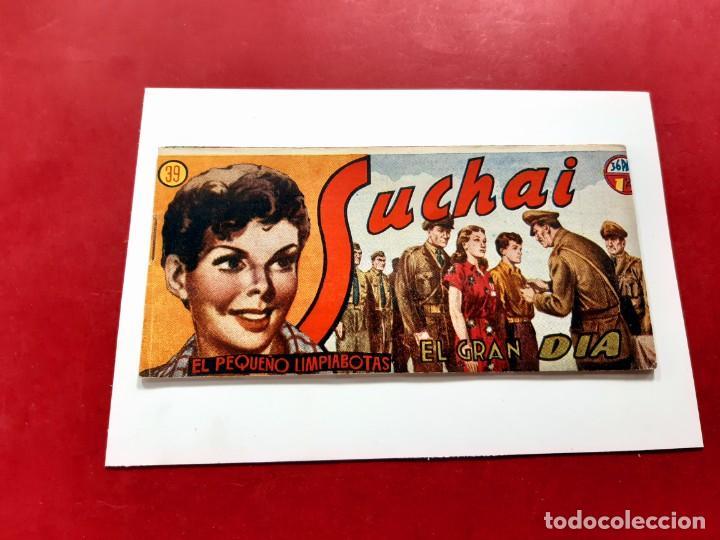 SUCHAI -EL PEQUEÑO LIMPIABOTAS Nº 39 -ORIGINAL-EXCELENTE ESTADO (Tebeos y Comics - Hispano Americana - Suchai)