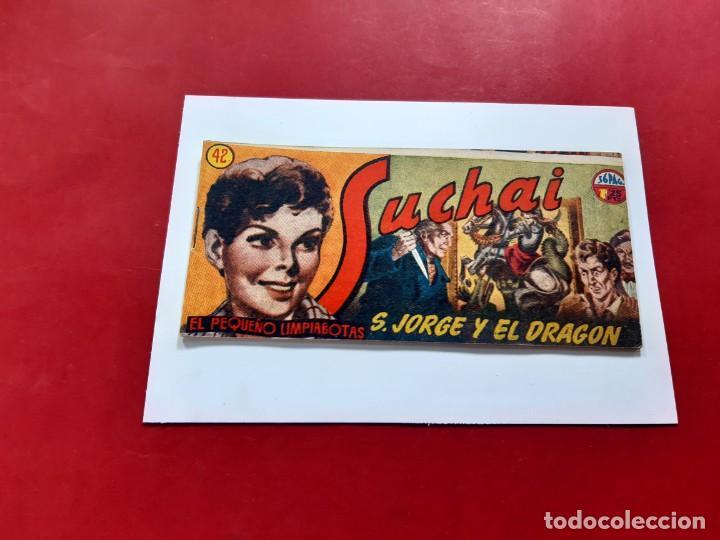 SUCHAI -EL PEQUEÑO LIMPIABOTAS Nº 42 -ORIGINAL-EXCELENTE ESTADO (Tebeos y Comics - Hispano Americana - Suchai)