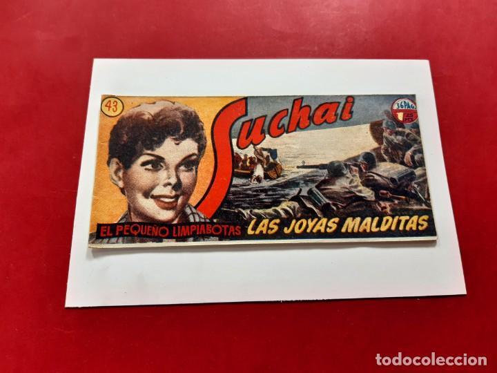 SUCHAI -EL PEQUEÑO LIMPIABOTAS Nº 43 -ORIGINAL-EXCELENTE ESTADO (Tebeos y Comics - Hispano Americana - Suchai)