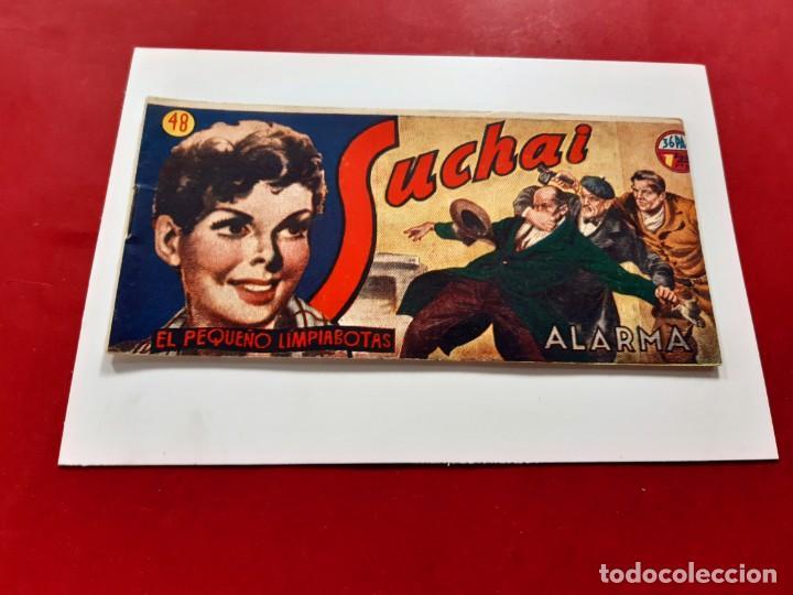 SUCHAI -EL PEQUEÑO LIMPIABOTAS Nº 48 -ORIGINAL-EXCELENTE ESTADO (Tebeos y Comics - Hispano Americana - Suchai)