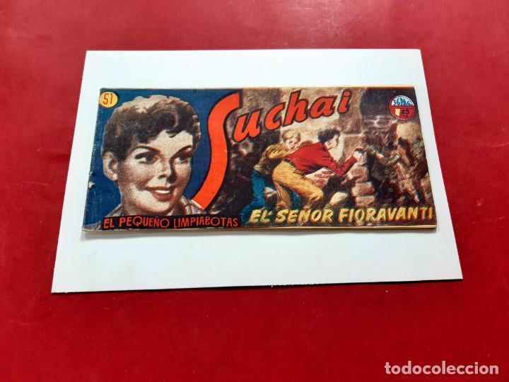 SUCHAI -EL PEQUEÑO LIMPIABOTAS Nº 51 -ORIGINAL-EXCELENTE ESTADO (Tebeos y Comics - Hispano Americana - Suchai)