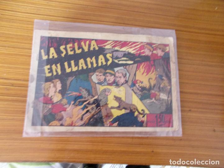 JUAN Y LUIS Nº LA SELVA EN LLAMAS EDITA HISPANO AMERICANA (Tebeos y Comics - Hispano Americana - Otros)