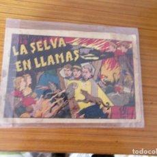 Tebeos: JUAN Y LUIS Nº LA SELVA EN LLAMAS EDITA HISPANO AMERICANA. Lote 222047010