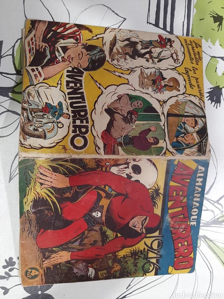 Tebeos: Almanaque de el Aventurero para 1946 - Foto 2 - 222370047