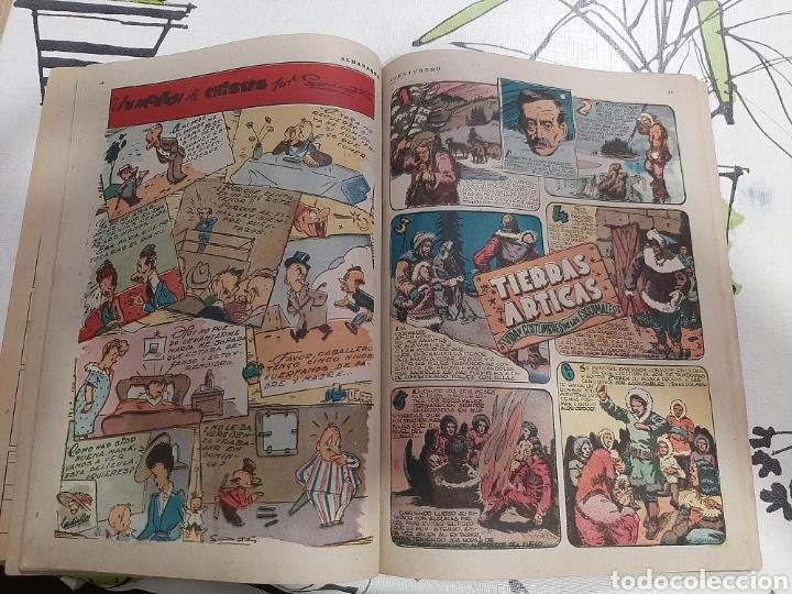 Tebeos: Almanaque de el Aventurero para 1946 - Foto 3 - 222370047