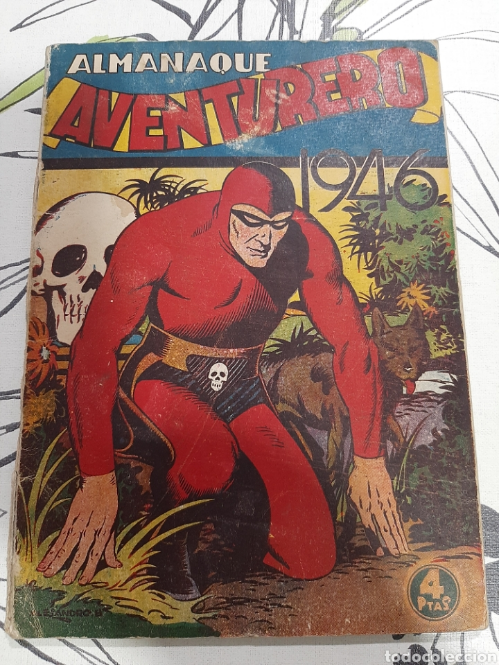 ALMANAQUE DE EL AVENTURERO PARA 1946 (Tebeos y Comics - Hispano Americana - Aventurero)